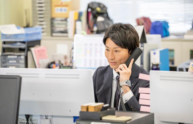 橋本さんの仕事の様子1